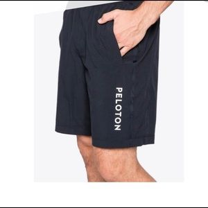 Peloton Workout Shorts Elastic Waist Black Size XL